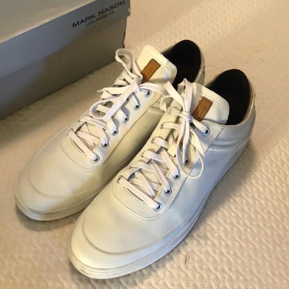 White Sneakers Leather 12 Mens | Poshmark
